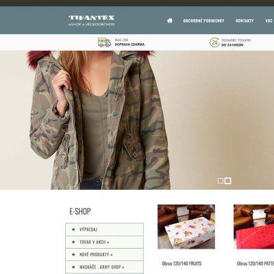 Army Online Shop Tifantex.sk