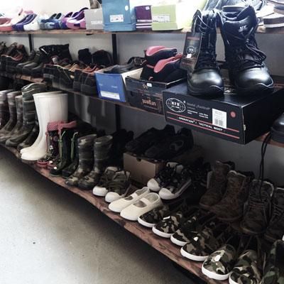 Široký výber obuvy ktorý nájdete aj na predajni